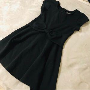 Girls Black Cute Dress